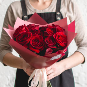 букет роз в Хабаровске
