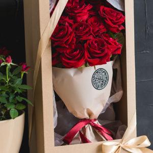 красные розы хабаровск